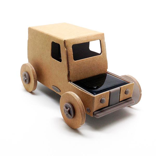 Autogami, voiture solaire à construire - Cadobio