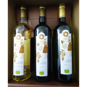 Coffret vins bio 3 Bergerac _ Cadobio