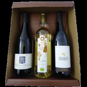Coffret 3 vins bio _ Cadobio